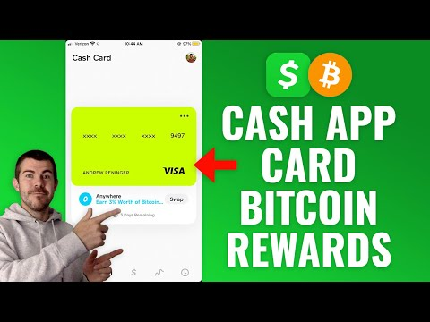 How to Earn Bitcoin Back Rewards with Cash App Card