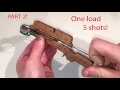 How To Make a Full Compound Repeating Micro Crossbow | PART 2