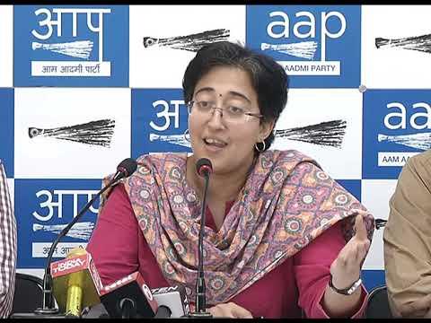 Senior AAP Leader Atishi Briefed Media on Modi Govt Conspiracy Against Satyendar Jain