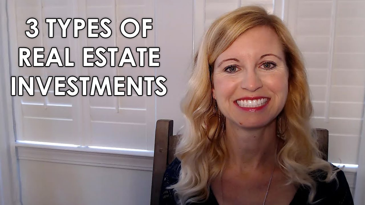 The Different Types of Real Estate Investing