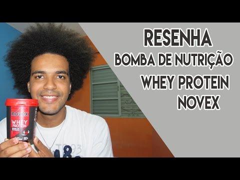 RESENHA: NOVEX WHEY PROTEIN BOMBA DE NUTRIÇÃO