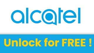 🔓 How to UNLOCK Alcatel phone for FREE 🔓 SIM unlock code Alcatel