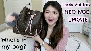 LV NEO NOE! Is it worth it👍?👎? WHAT'S IN MY BAG+UPDATE