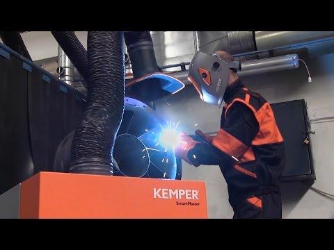 Equipo de extracción de humos de soldadura KEMPER SmartMaster Basic IFA W3