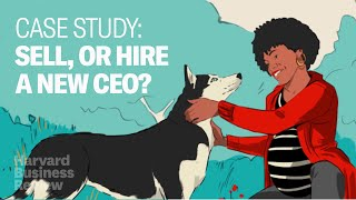 Should You Sell Your Startup, or Find a New CEO? (Case Study)