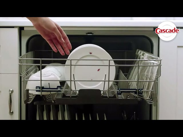 Dishwasher Not Cleaning Dishes Well | Cascade Detergent