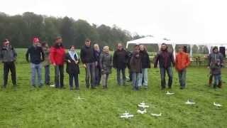 preview picture of video 'Einweihung Fluggelände Modellclub Eningen 12.10.2013'