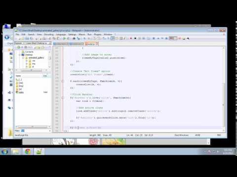 Projects in HTML5 – Chapter 13 – JQuery Quicksand Part 2