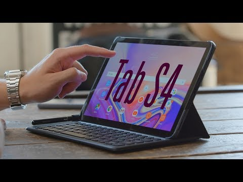 Galaxy Tab S4 hands-on