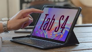 Планшет Samsung Galaxy Tab S4 10.5 64GB LTE Grey (SM-T835NZAA) от компании Cthp - видео 2