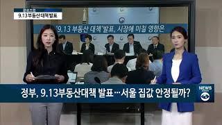 """[아경TV] 9.13부동산대책, 시장에 '단기충격'…심교언 """"정책 신중해야"""""""