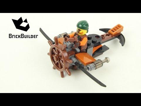 Vidéo LEGO Ninjago 30421 : Skybound Plane (Polybag)