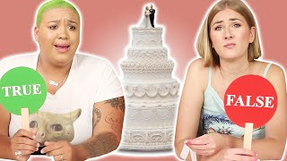 Women Play True or False: Wedding Facts