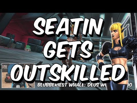 Seatin Gets Outskilled - [Loud Rage Warning] - Marvel Contest Of Champions