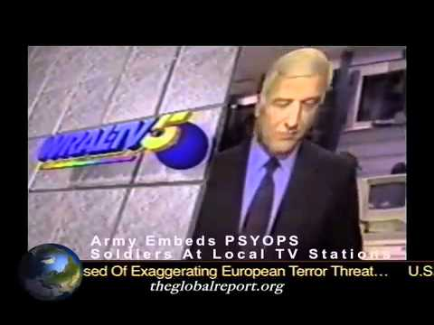 CNN's Army Psychological Operations Specialists at News Headquarters