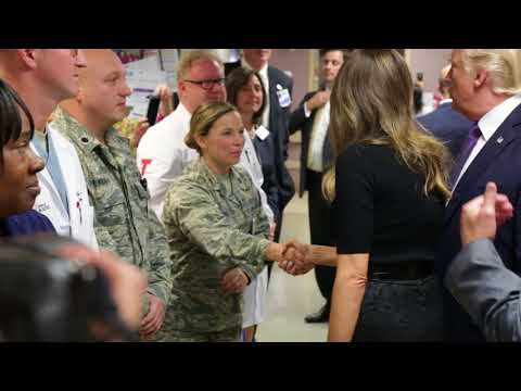 First Lady Melania Trump Visits Las Vegas, Nevada