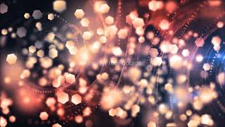 bokeh particles overlay | particles light leaks video | abstract background | Royalty Free Footages