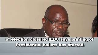IEBC wins case on announcement of presidential results