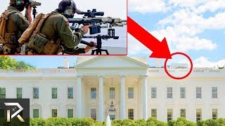 Crazy security features in the White House