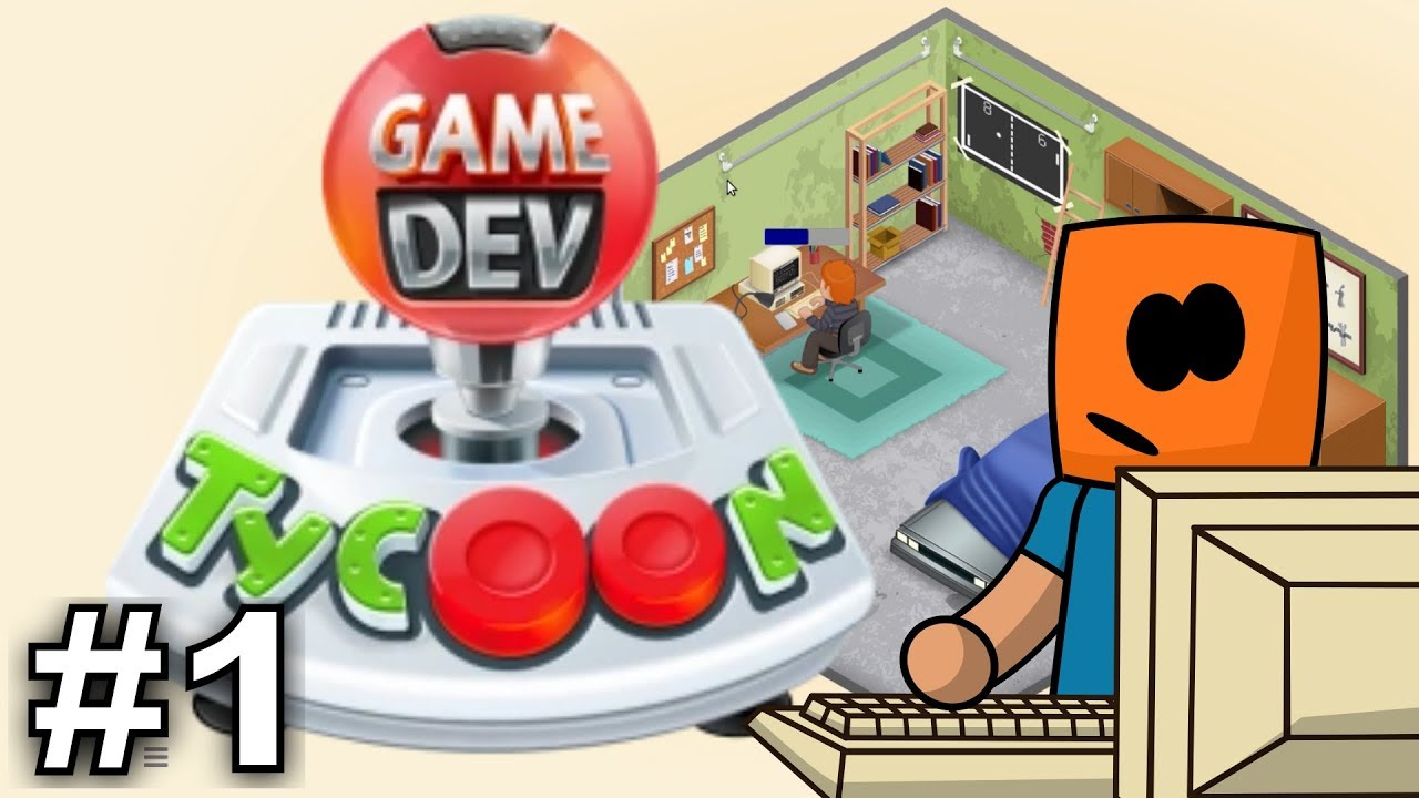 Game Dev Tycoon #1 | Walkthrough Let's Play