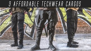 3 Affordable Techwear Cargo Pants For The LOW