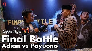 Nobar Debat Pilpres: Bawa Asyik Politik - Final Battle Adian vs Poyuono (Part 1) | Catatan Najwa