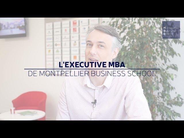 Témoignage de Frédéric, participant du programme Executive MBA