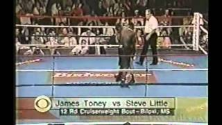 James Toney vs Steve Little Part 3