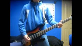 davey destroyed the punk scene  Anti Flag bass cover