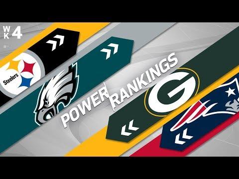 NFL Week 4 Power Rankings!