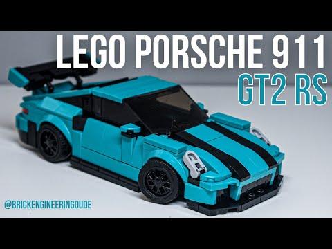 LEGO Porsche 911 GT2 RS | Speed Champions MOC