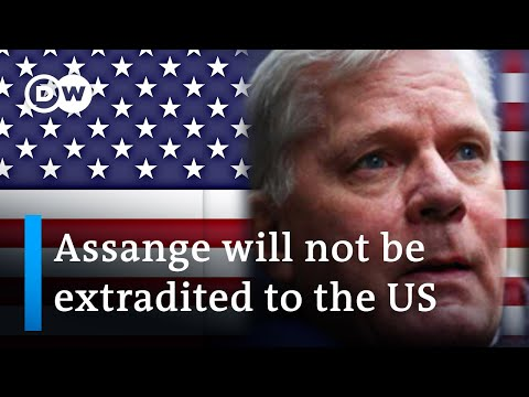 , title : 'WikiLeaks founder Julian Assange extradition blocked by British judge | DW News'