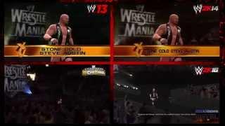 WrestleMania XV: WWE 2K16 vs. WWE 2K14 vs. WWE '13 vs. LOWM - Ultimate Comparison
