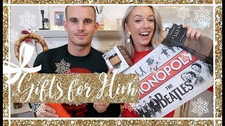 CHRISTMAS GIFT GUIDE FOR HIM  ⭐️ // Fashion Mumblr