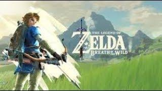 Legend of Zelda Breath of the Wild Ep03: Link (Tries) Crossing a Ravine