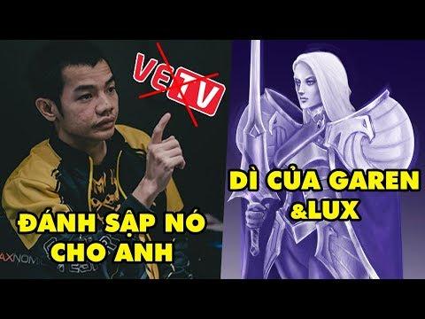Update LMHT: HLV Tinikun đòi đánh sập cả VETV vì ủng hộ Gáy láo – Tướng mới là Dì của Garen và Lux