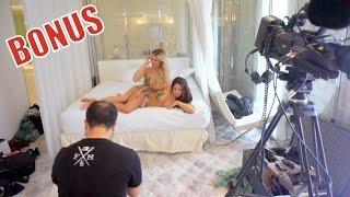 Les coulisses du shooting sensuel de Aurélie et Andréane (Les Anges 8)