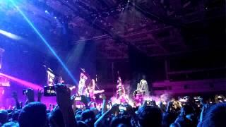 Открытие шоу Lady Gaga в СПб