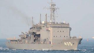 海上自衛隊潜水艦救難母艦ちよだAS-405JSCHIYODA-JMSDFsubmarinerescueship-2016