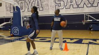Meet new Georgetown Women's Basketball Head Coach James Howard