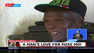 A mourners pilgrim: A man's love for Mzee Moi