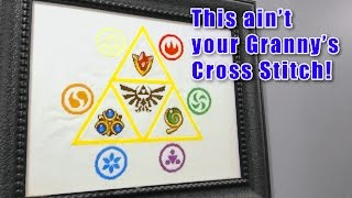 These Aint Your Grannys Cross Stitches!