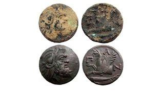 Чистка монет, чистка монет электролизом, как почистить монету