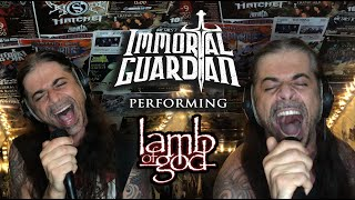 "Immortal Guardian Covers ""Laid To Rest"" by Lamb of God"