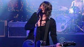 "[HD] Foo Fighters - ""Rope"" 4/12/11 David Letterman"
