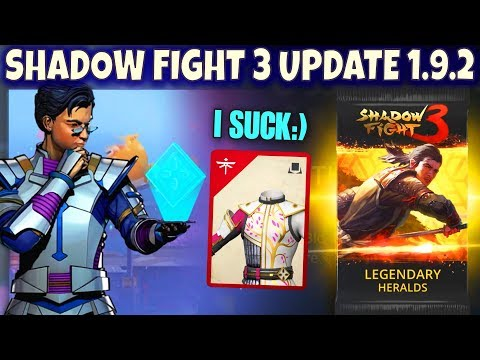 Shadow FIght 3 Update 1.9.2. My Attempt at Blossom Festival. Legendary Pack Opening.