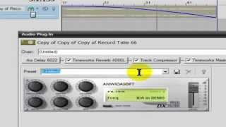 طريقه عمل تاثير علي الصوت بطريقة فيلو بستخدام فلتر Chorus
