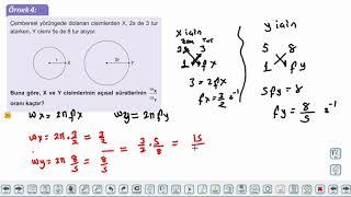 Eğitim Vadisi AYT Fizik 9.Föy Çembersel Hareket 1 Konu Anlatım Videoları
