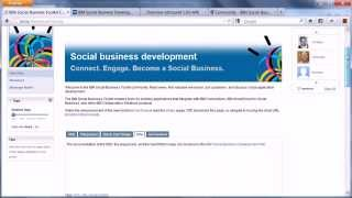 The New IBM Social Business Toolkit