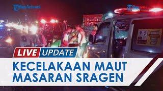 Sekeluarga Jadi Korban Kecelakaan di Sragen, Pasangan Suami Istri Tewas & Anaknya Alami Patah Kaki